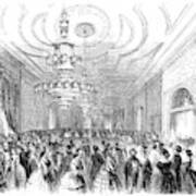 White House Reception Poster