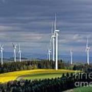 Wind Turbines Poster