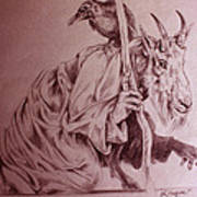 Wise Old Goat Poster
