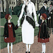 Women's Fashion, 1920 Poster