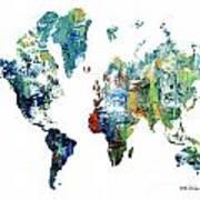 World Atlas  Poster