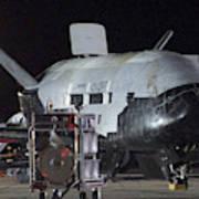 X-37b Orbital Test Vehicle, Post-landing Poster