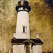 Yaquina Head Lighthouse - Oregon Poster