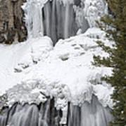 Yellowstone Falls Poster by David Yack