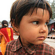 Young Boy Orchha  Poster