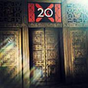 20 Exchange Place Art Deco Poster