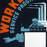 New Deal Wpa Poster Poster
