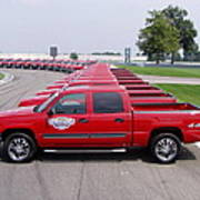 2004 Brickyard 400 Silverado Drive-away Vehicles Poster