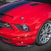 2007 Ford Mustang Shelby Gt500 427  Poster
