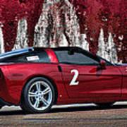 2008 Corvette Poster