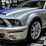 2008 Ford Mustang Shelby Poster