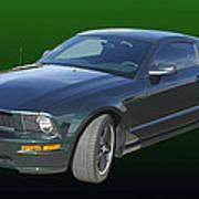 2008 Mustang Bullitt Poster