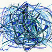 2010 Abstract Drawing 22 Poster