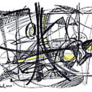 2010 Abstract Drawing 27 Poster