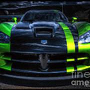 2010 Dodge Viper Acr Poster