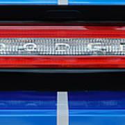 2011 Dodge Challenger Rt Hemi Taillight Emblem Poster