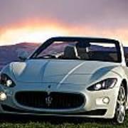 2011 Maserati Gran Turismo Convertible I Poster