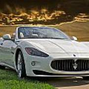 2011 Maserati Gran Turismo Convertible II Poster