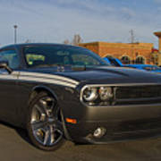 2012 Dodge Challenger R/t Classic Poster