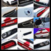 2012 Dodge Challenger-white-1 Poster
