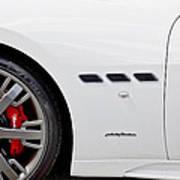 2012 Maserati Gran Turismo S Poster