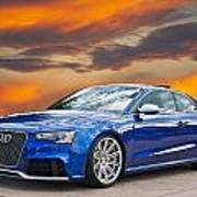 2013 Audi Rs5 Sports Coupe Poster