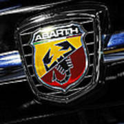 2013 Fiat 500 Abarth Poster