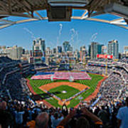 2013 San Diego Padres Home Opener Poster by Mark Whitt
