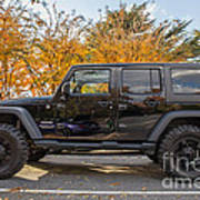 2014 Jeep Wrangler Sport Poster