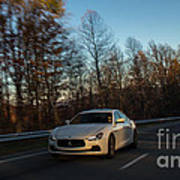 2014 Maserati Ghibli Sq4 Poster