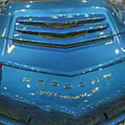 2014 Porsche 911 Carrera S Blue Poster