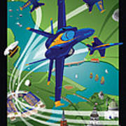 2014 Usna Commissioning Week Poster