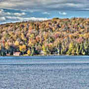 201410020-036d1 Autumn Forest North Shore Hdr1 2x3 Poster