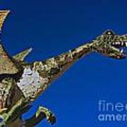 2015 Rose Parade Float Showing A Dragon 15rp039 Poster