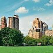 Central Park Spring Poster