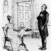 Scene From Pride And Prejudice By Jane Austen Poster
