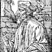 John Wycliffe (1320?-1384) Poster