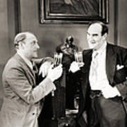 Silent Film Still: Drinking Poster