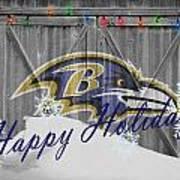 Baltimore Ravens Poster by Joe Hamilton