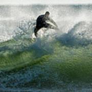 Gulf Coast Surfing Poster