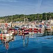 Lyme Regis Harbour Poster