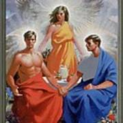24. The Trinity / From The Passion Of Christ - A Gay Vision Poster