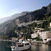 Views From The Amalfi Coast In Italy Poster
