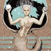 24x36 Choose Mermaid Poster