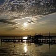 An Outer Banks Of North Carolina Sunset Poster