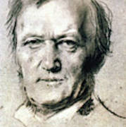 Richard Wagner (1813-1883) Poster