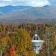 26 East And The Blueridge Panoramic Poster