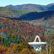 26 West Antenna And The Blueridge Poster