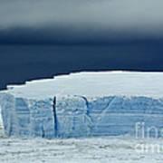 Iceberg, Antarctica Poster