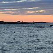 Maine Seascapes Poster